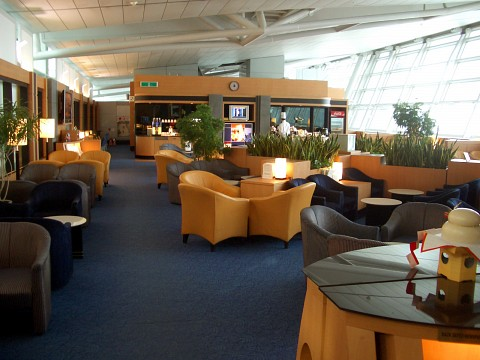 Singapore Airlines Lounge at