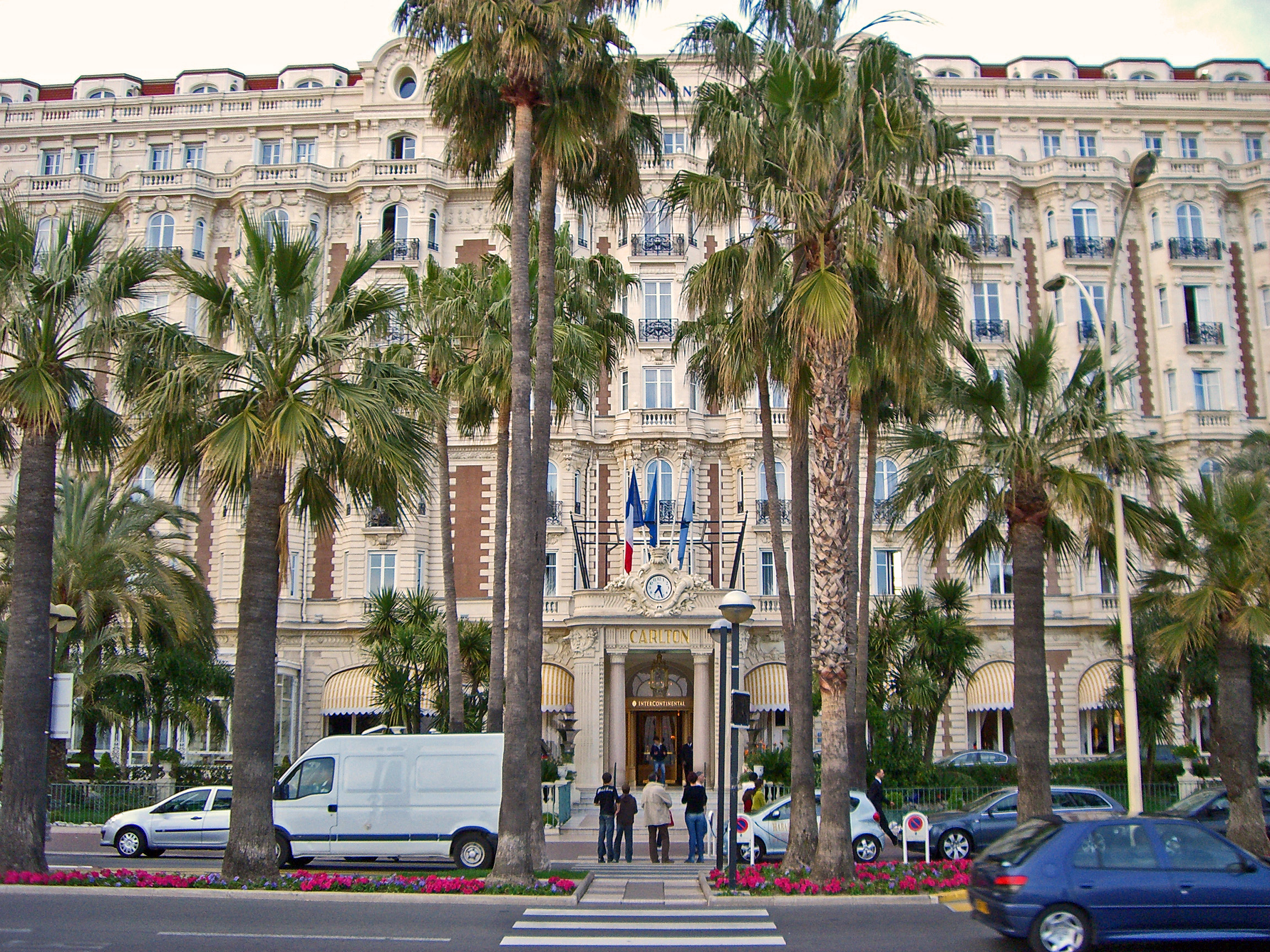 Intercontinental carlton cannes hotel hotel in cannes for Hotels in france