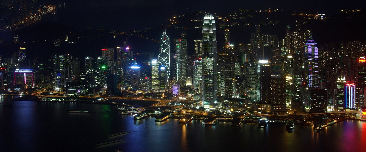 Stunning view of Hong Kong from Sky100 - International Commerce Centre