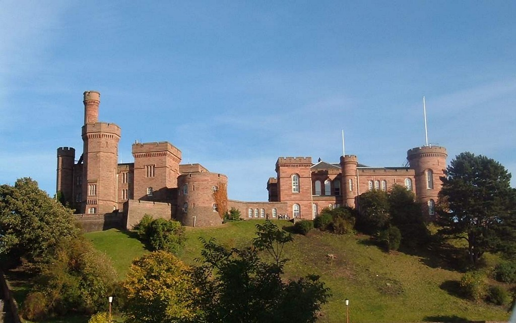 Inverness Castle  Scotland - Inverness