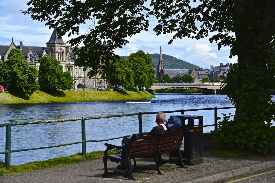 Tourist in Inverness - Inverness