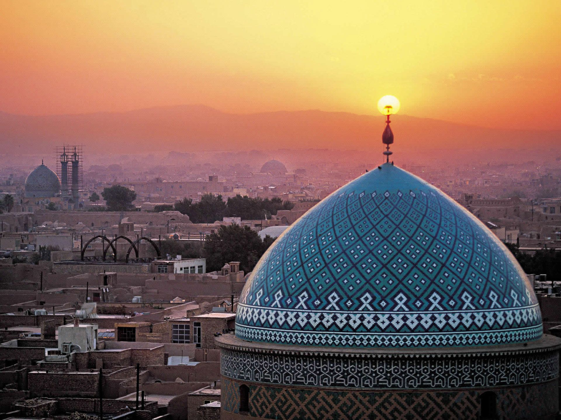 Iran In Middle East Thousand Wonders
