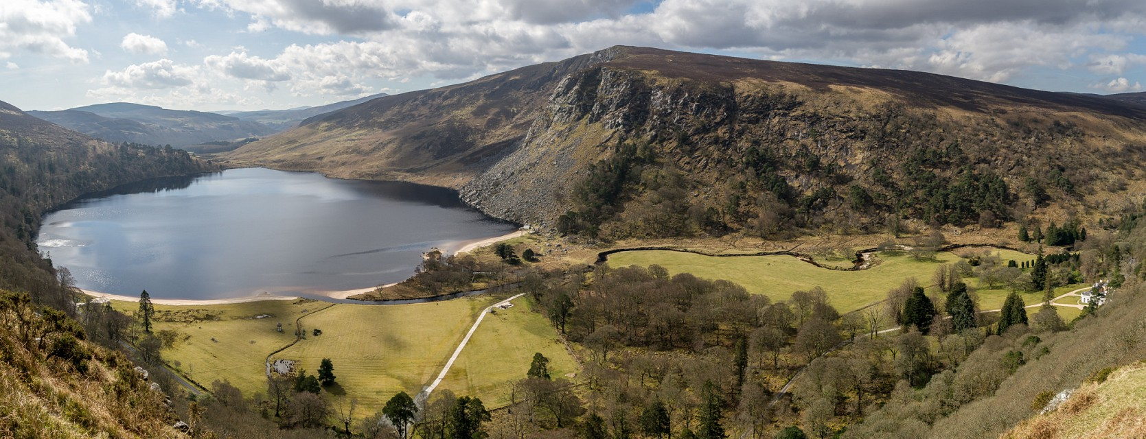 Lough Tay, Wicklow, Ireland - Ireland