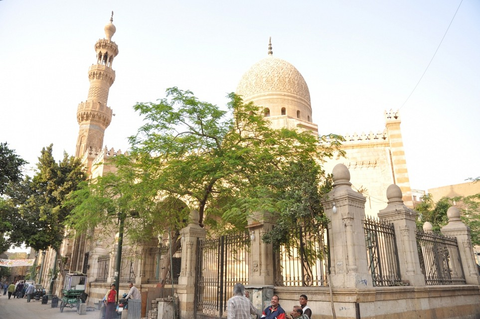 A mosque in Islamic Cairo - Islamic Cairo