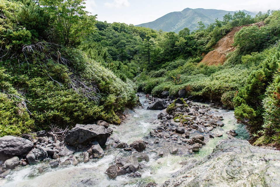 Kuril Islands - Iturup Hot Springs - Iturup