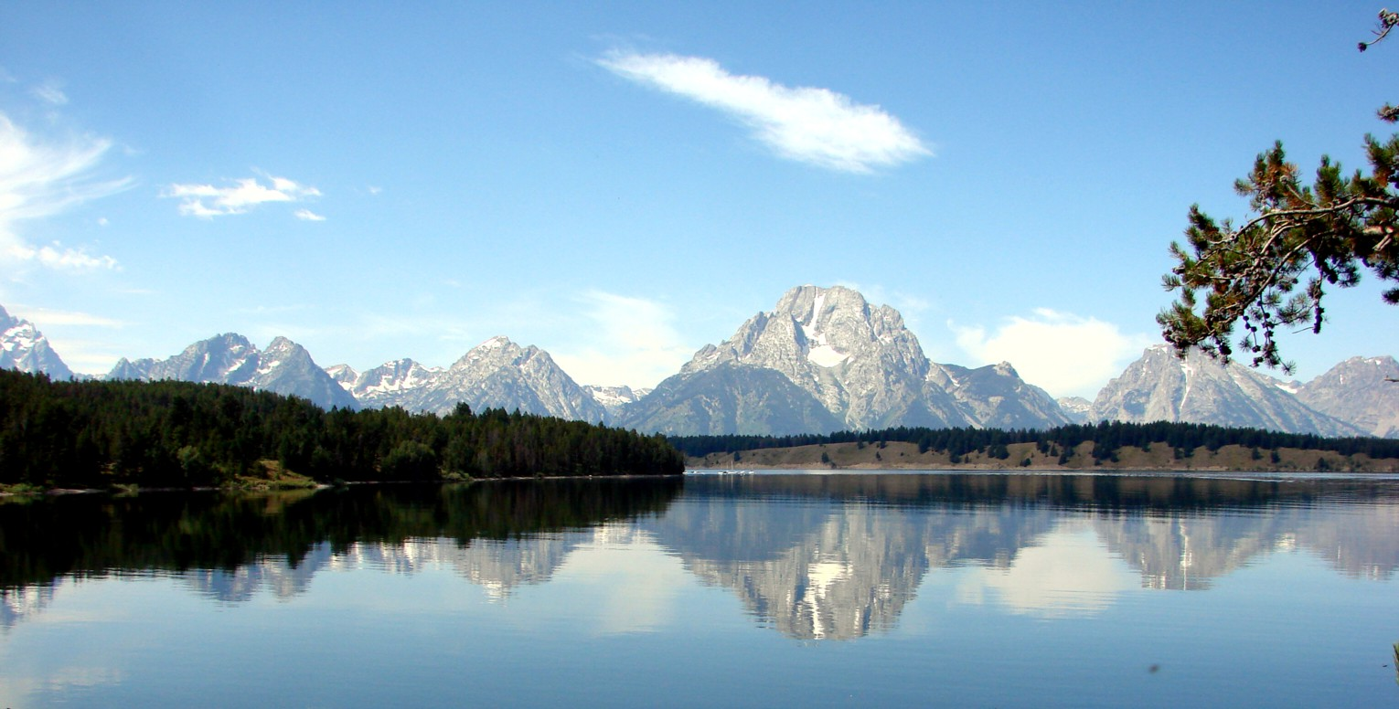 Jackson Lake Lake In Grand Teton National Park