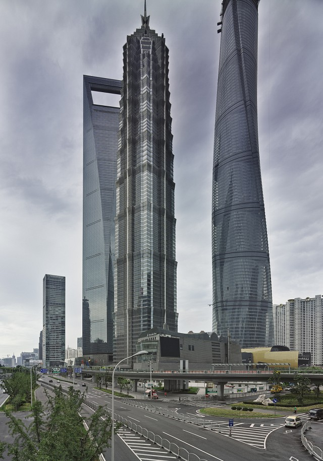 Jin Mao Tower (center) - Jin Mao Tower
