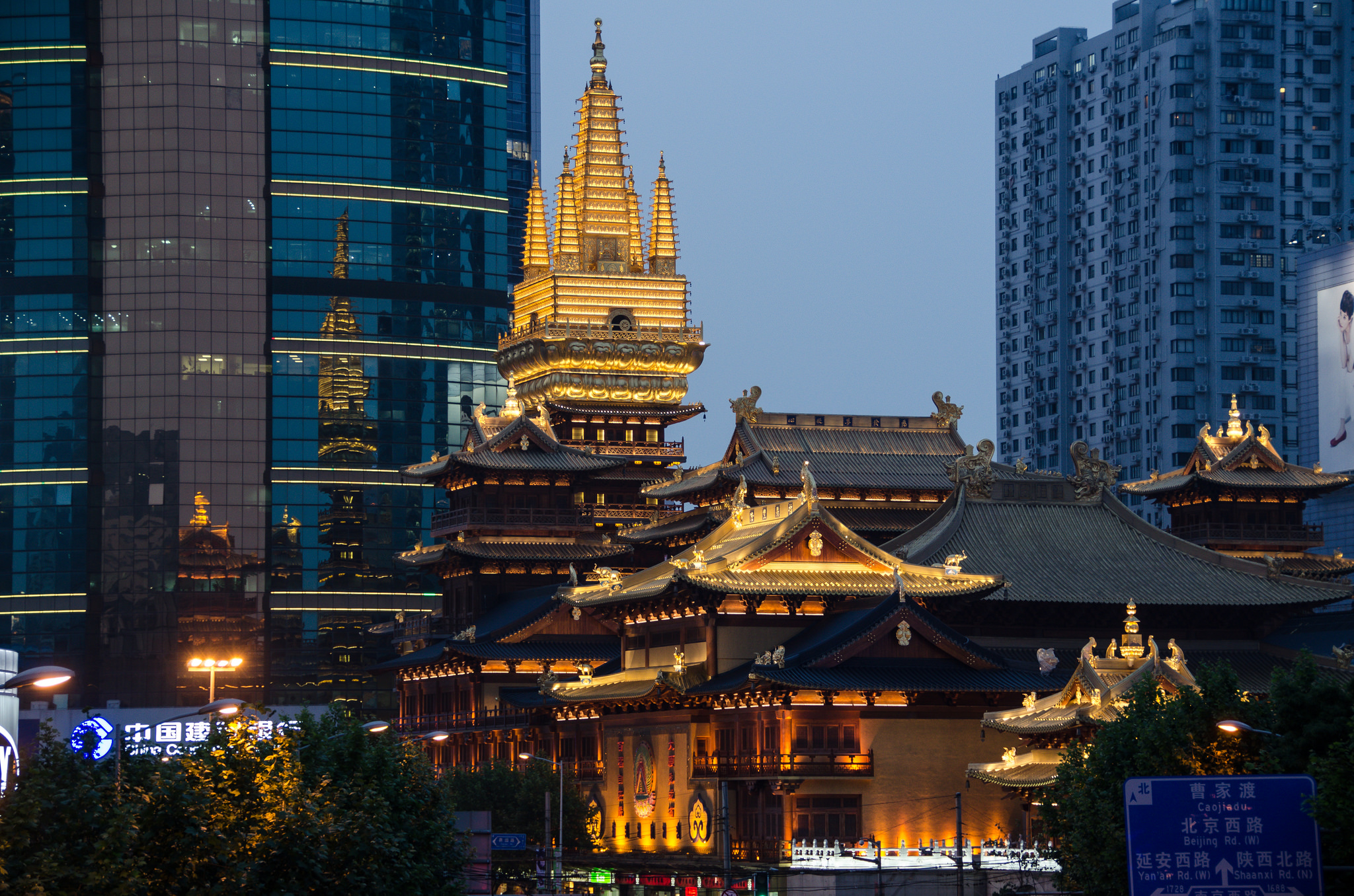 Jing An Temple Temple In Shanghai Thousand Wonders