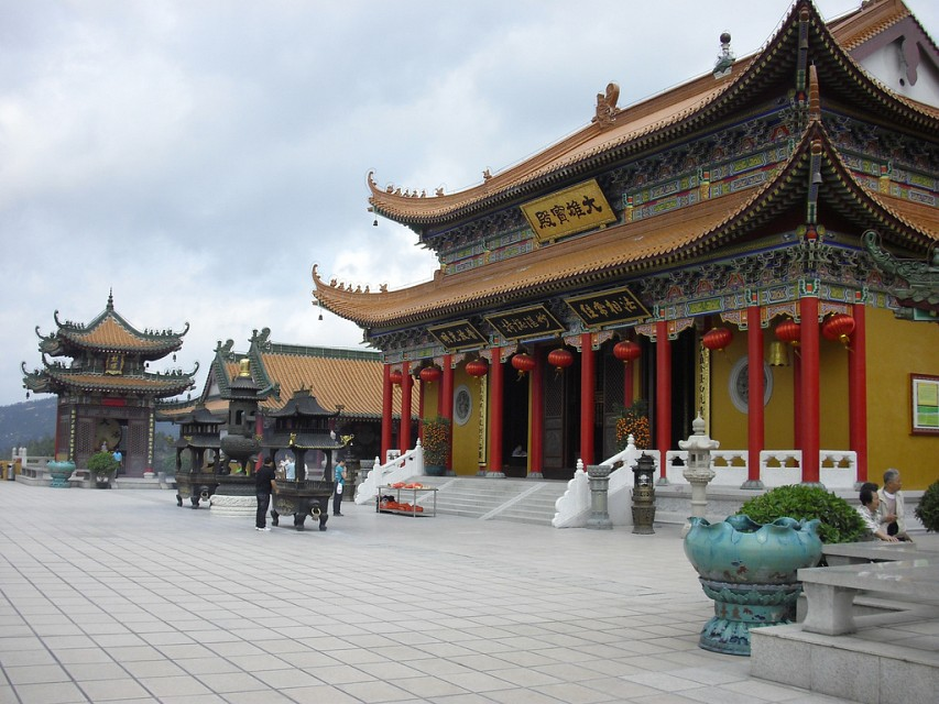 Jintai Temple. Chinese Temple in Guangdong, China