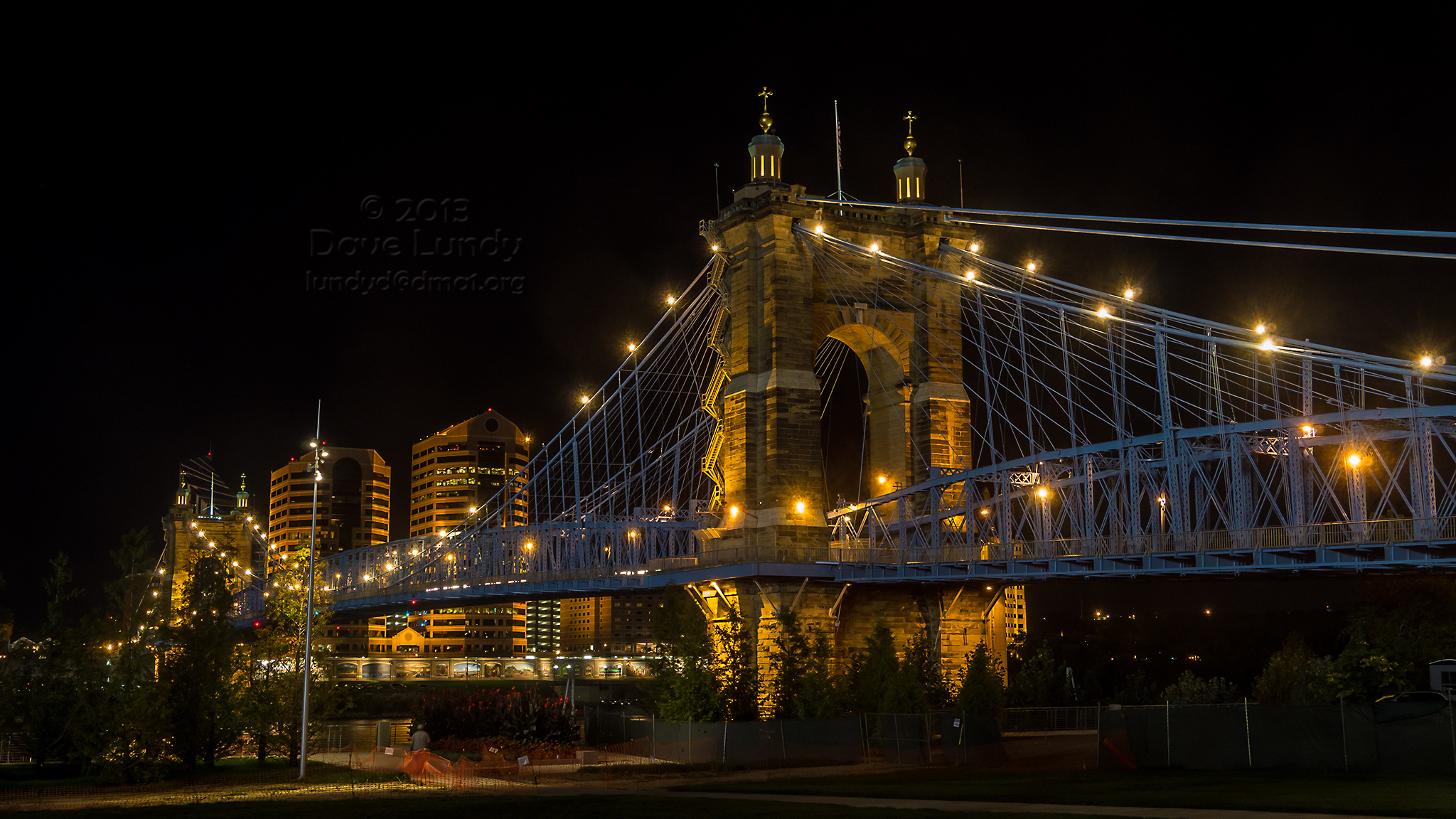 John A Roebling Suspension Bridge Bridge In Cincinnati