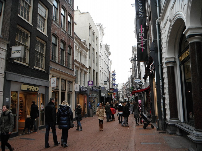 Kalverstraat Shopping, Amsterdam - Kalverstraat