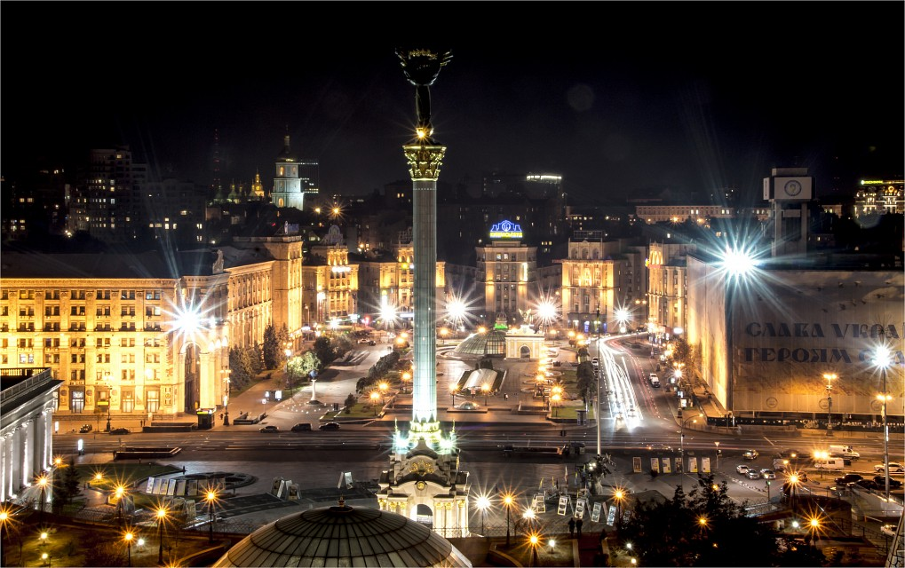 Maidan at night - Kiev