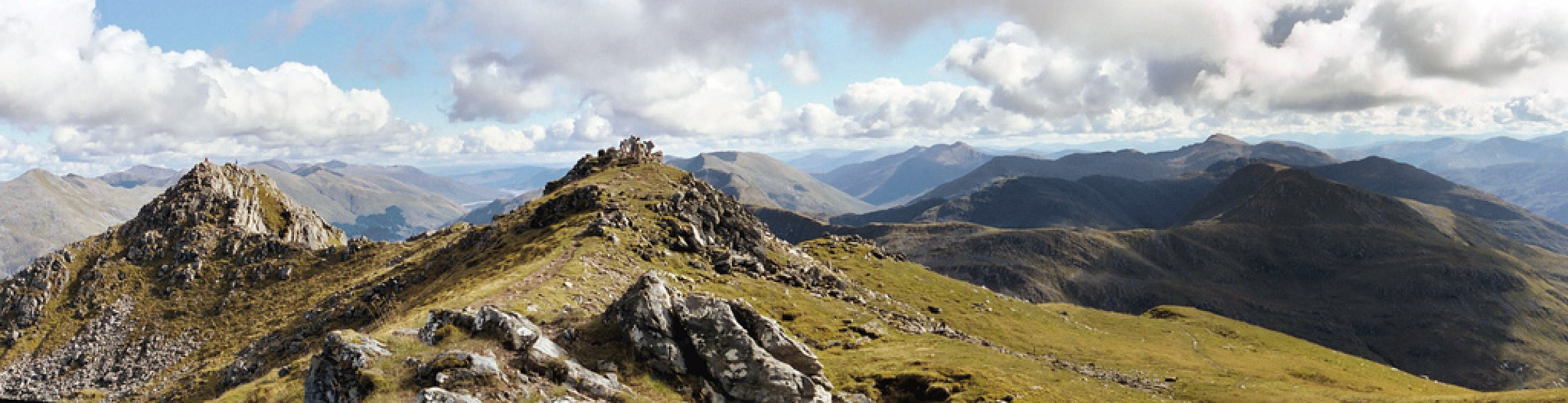 The Summit of the Saddle - Kintail
