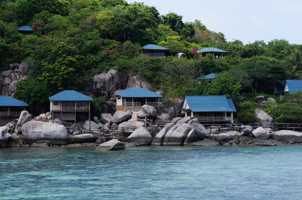 Koh Nang Yuan Shacks