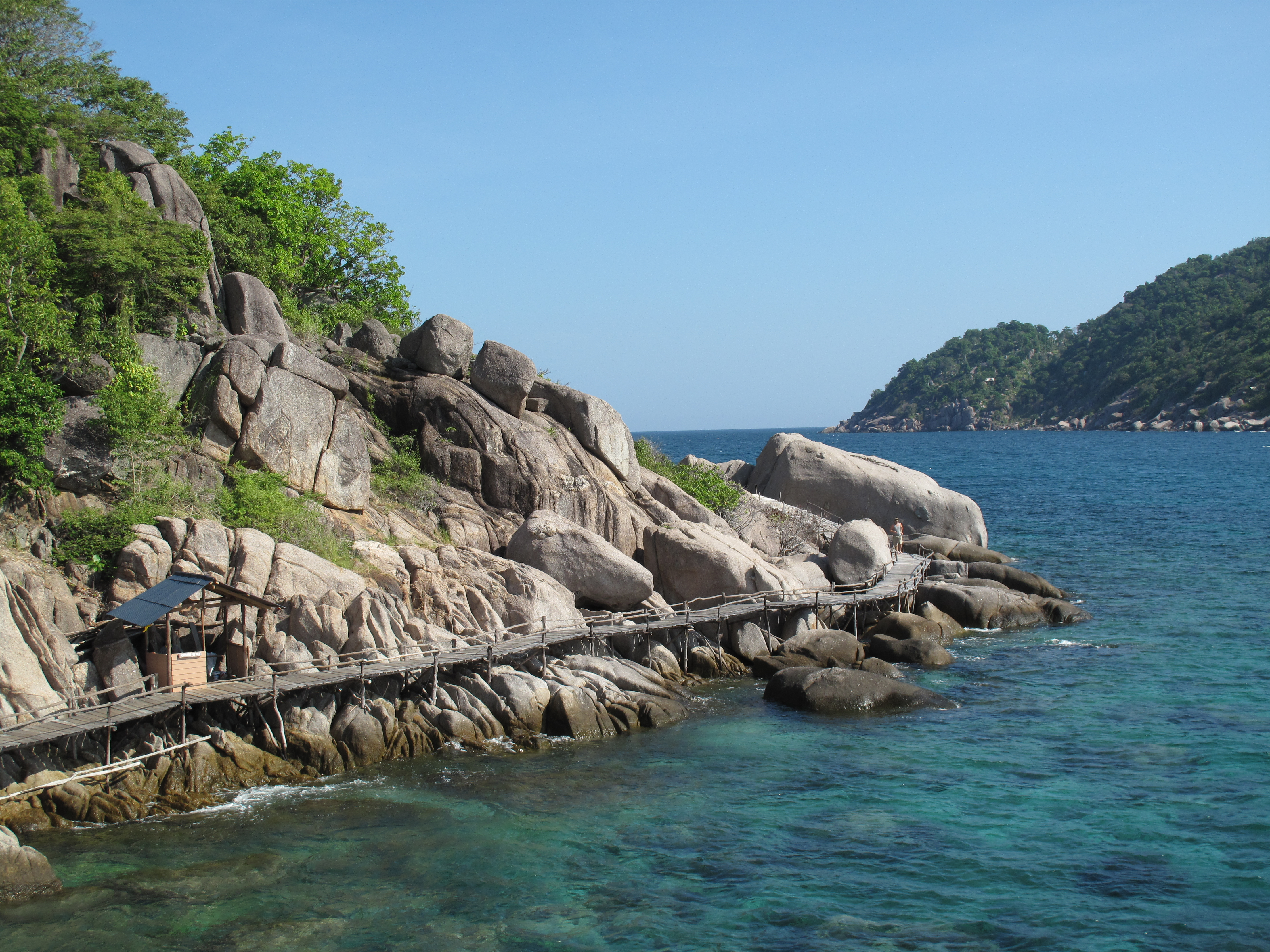 Koh nang yuan island in thailand thousand wonders - Nangyuan island dive resort ...