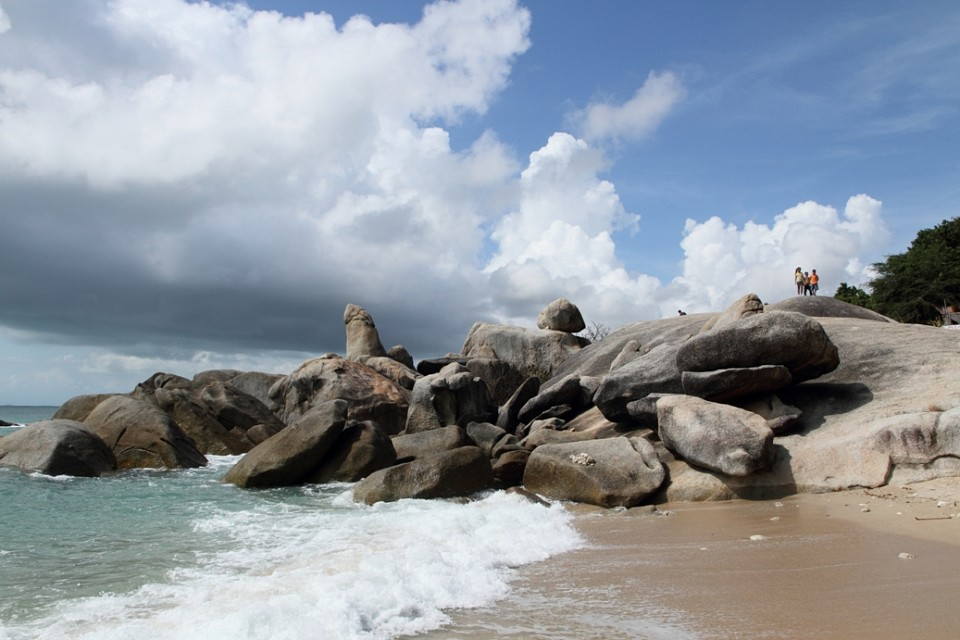 Rocks on the beach - Koh Samui
