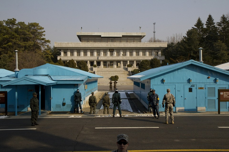 Panmunjom (Joint Security Area), Korean Demilitarized Zone - Korean Demilitarized Zone