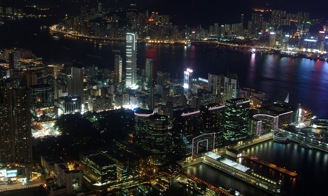 Stunning view of Hong Kong from Sky100 - Kowloon