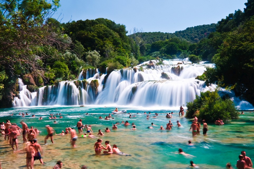 Skradinski Buk - Waterfall in Krka National Park, Croatia - Krka National Park