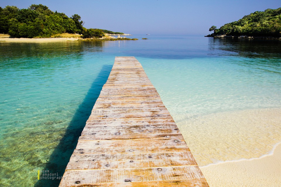 Ksamil beach dock - Ksamil Islands