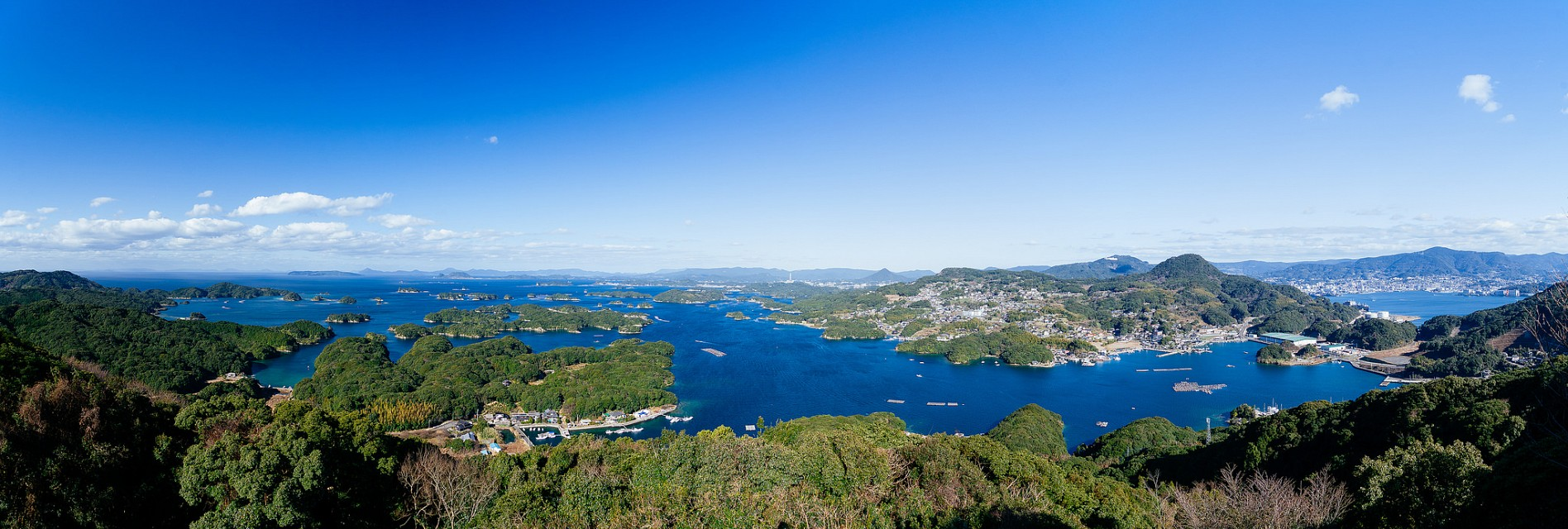 九十九島と佐世保港 Kujukushima and Sasebo Port - Kujūkushima
