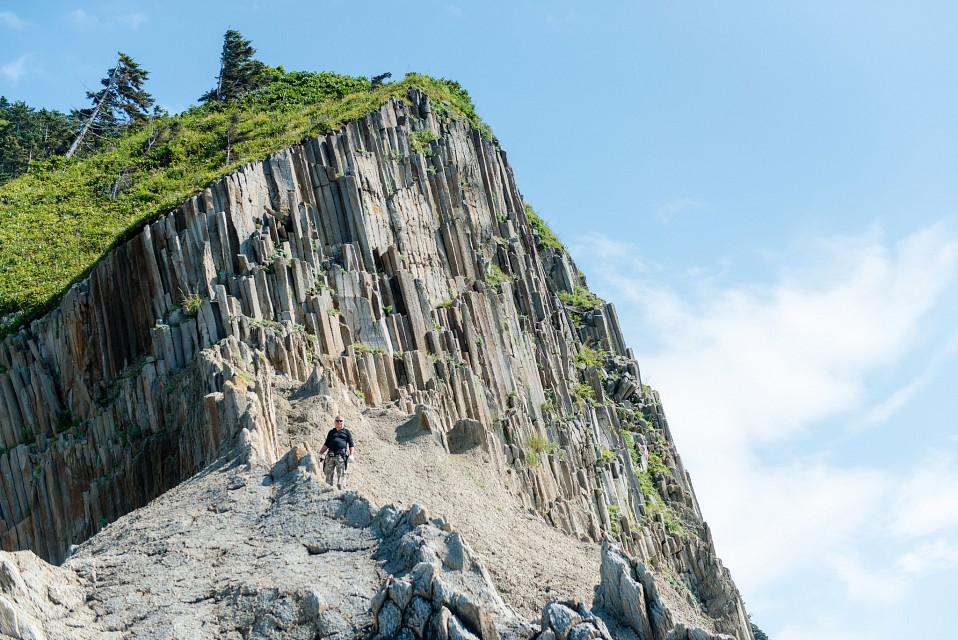 Kuril Islands - Kunashir, Cape Stolbchaty - Kunashir Island