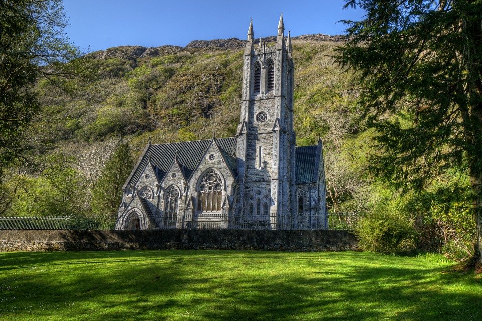 Gothic Cathedral - Kylemore Abbey - Kylemore Abbey