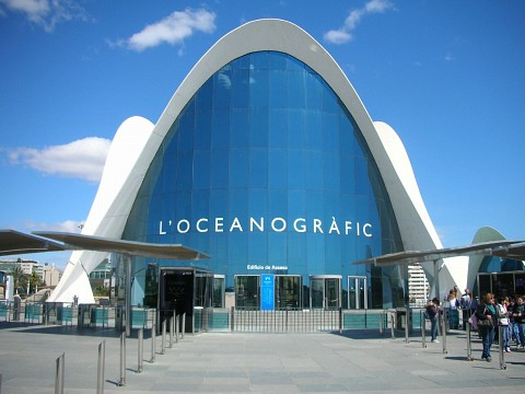 L 39 Oceanogr Fic Museum In Valencia Thousand Wonders