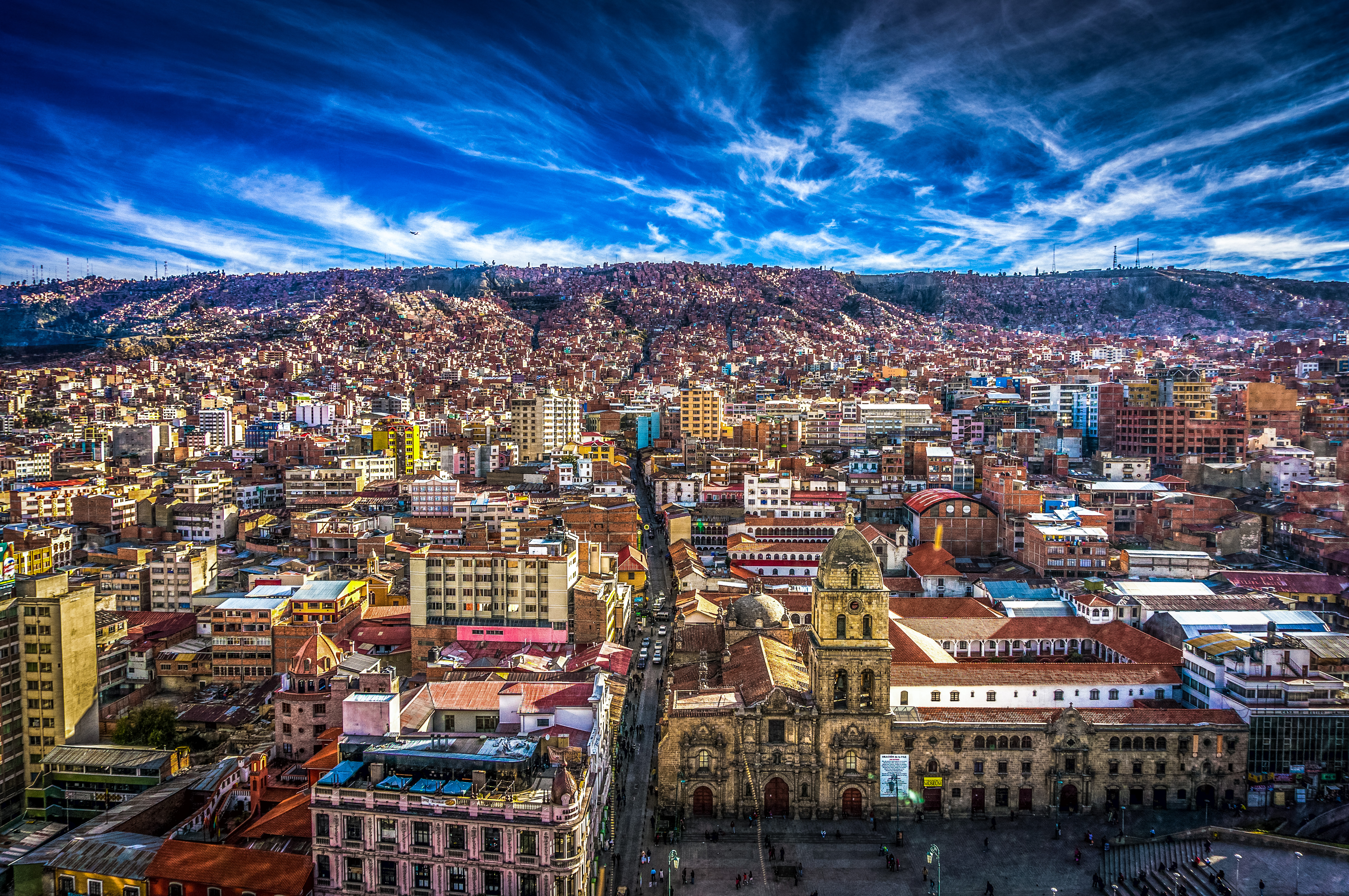 La paz city in bolivia thousand wonders for Is la a city