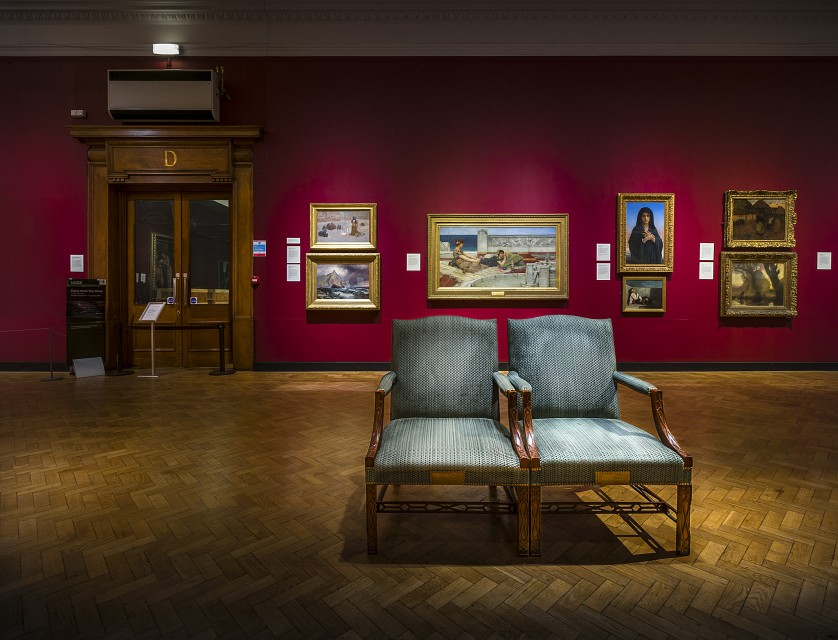 A chair to ponder? - Laing Art Gallery