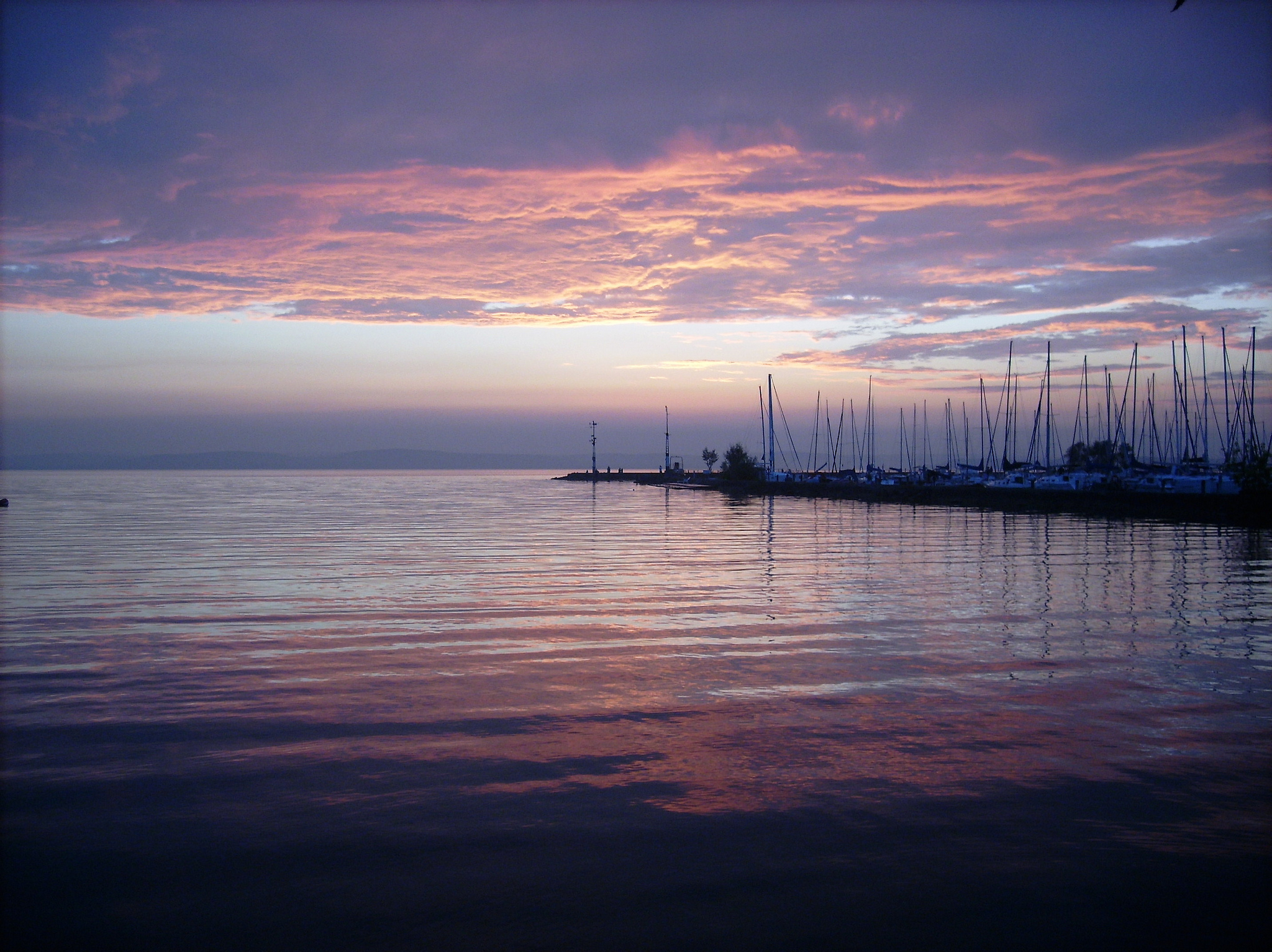 the lake balaton by - photo #23