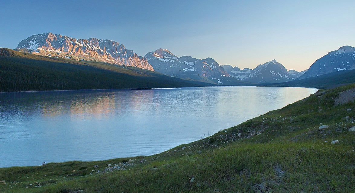 Lake Sherburne-Glacier N.P. - Lake Sherburne