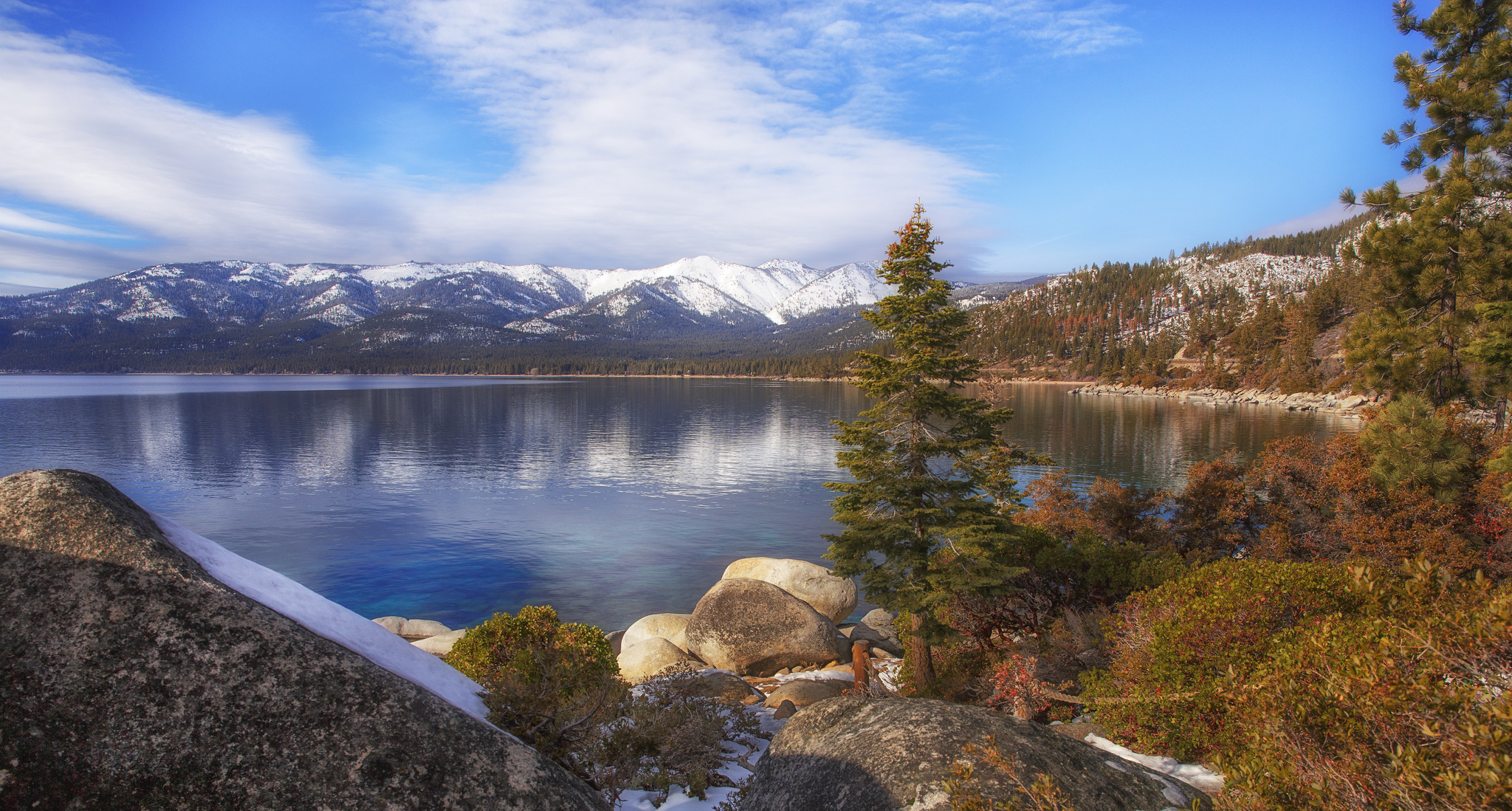 Lake Tahoe Nevada State Park State Provincial Park In