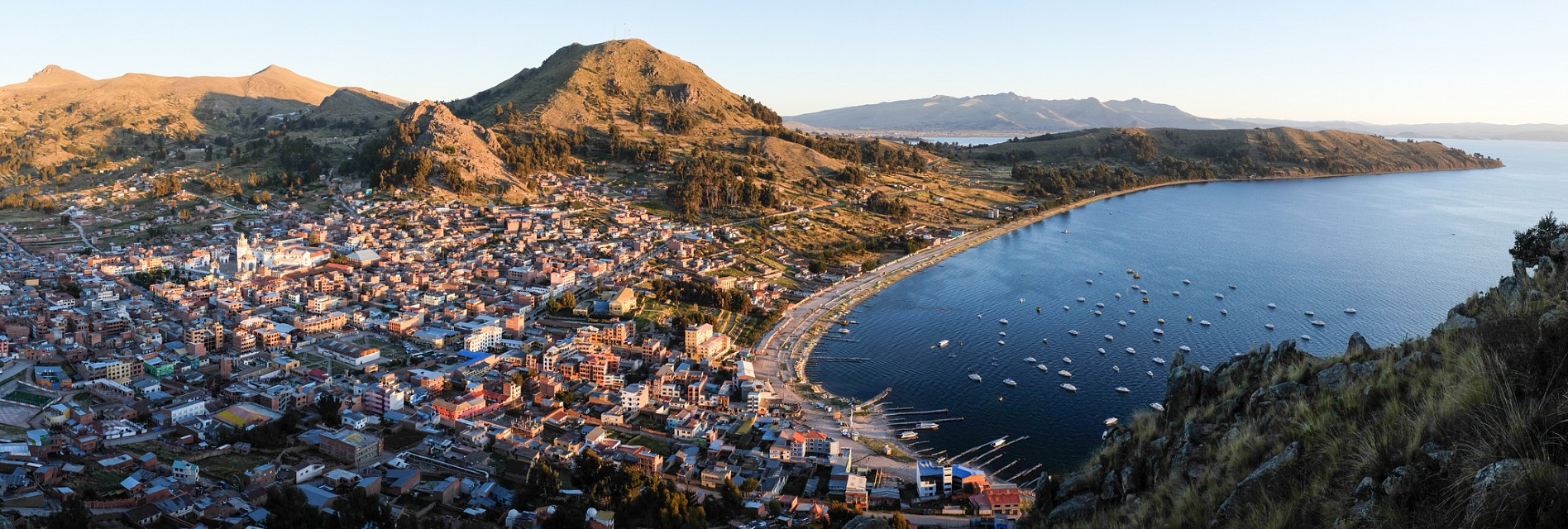 The Real Copacabana - Lake Titicaca