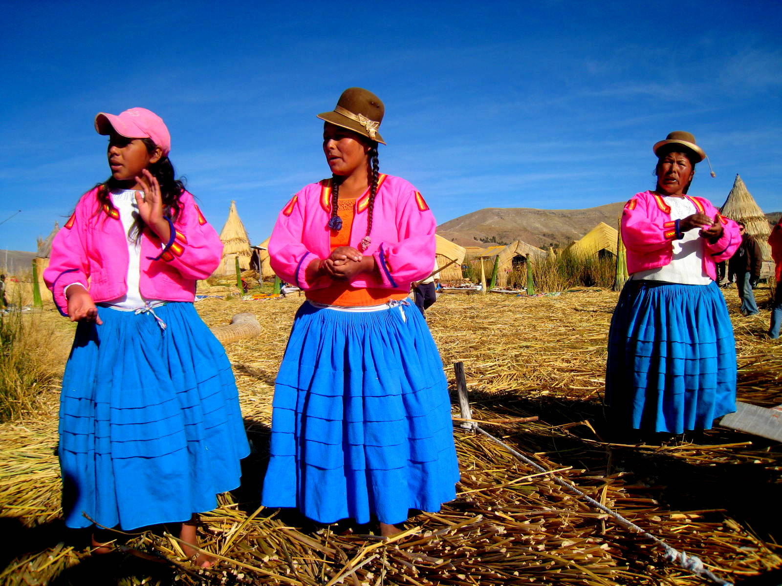 The Ladies of Lake Titicaca