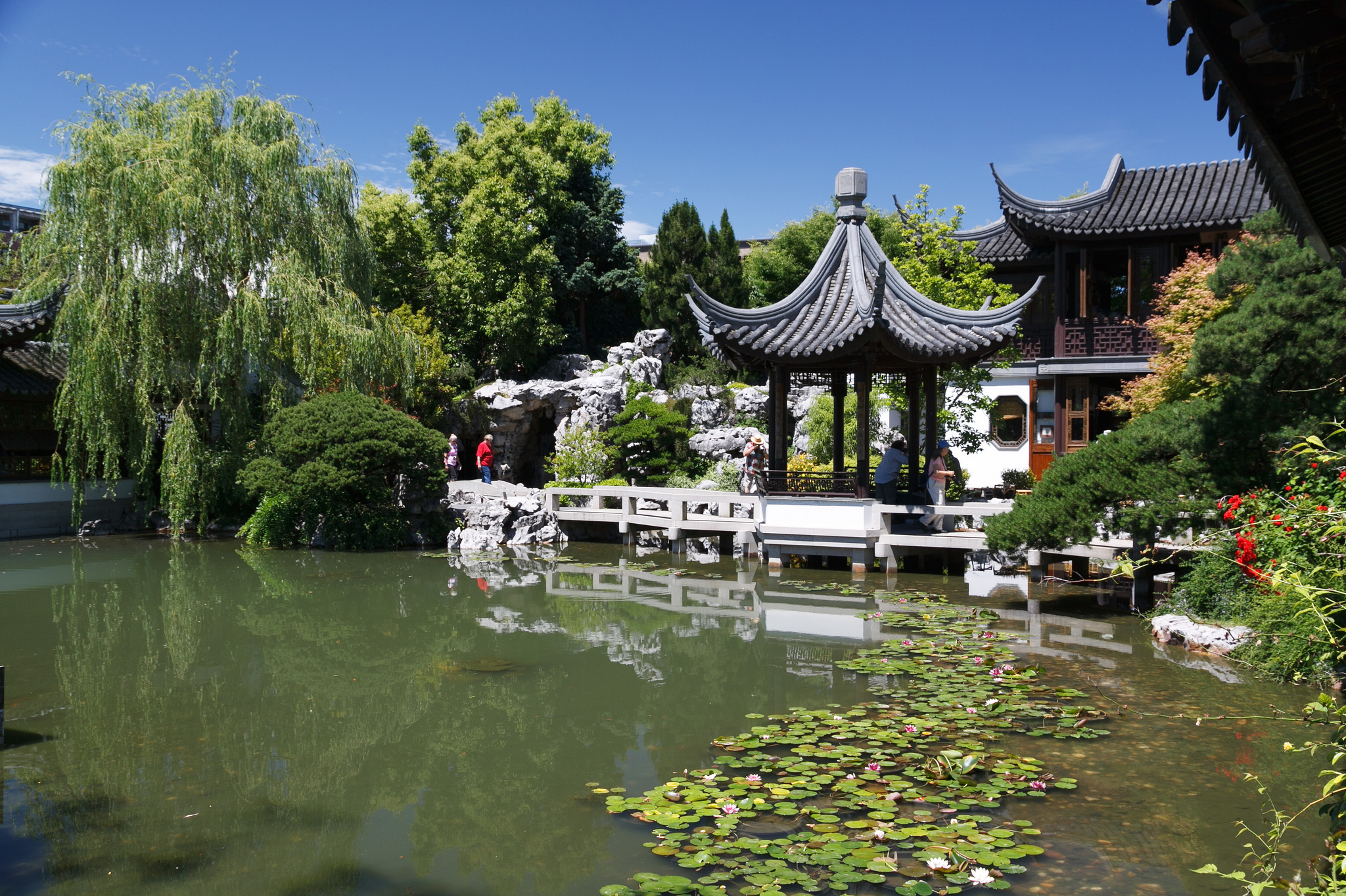 lan su chinese garden urban park in portland thousand wonders