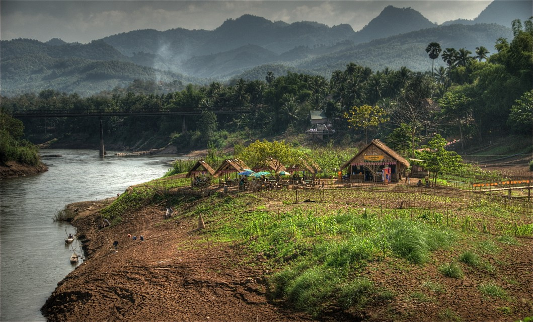 Laotian countryside - Laos