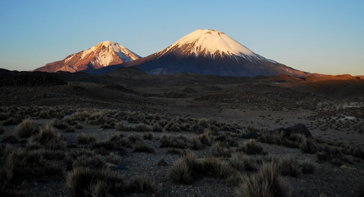 Parinacota at Sunset - Lauca National Park
