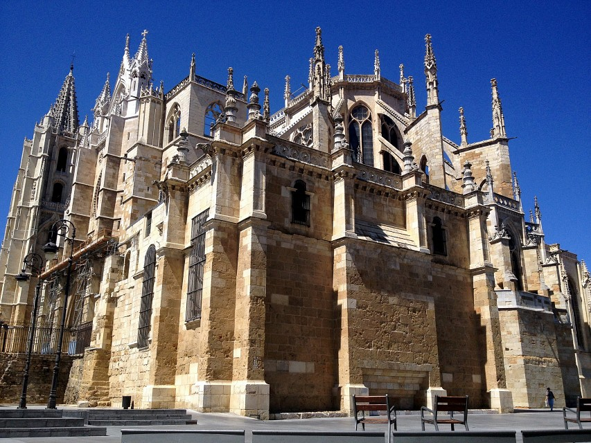 Leon - Cathedral - León Cathedral