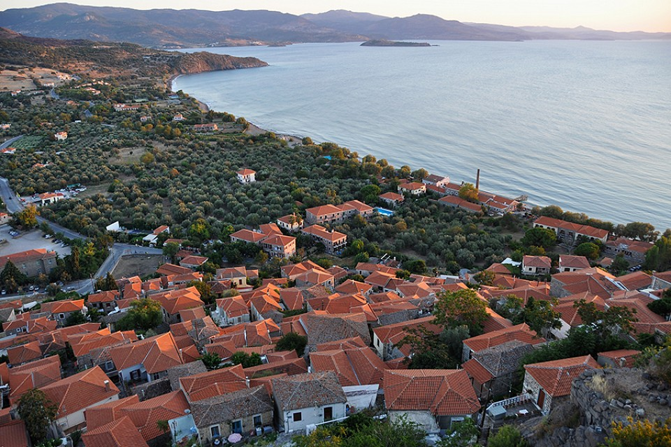 Molyvos - Bay Panorama - Lesbos