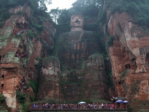 Leshan Giant Buddha - Biggest in the World - Leshan Giant Buddha