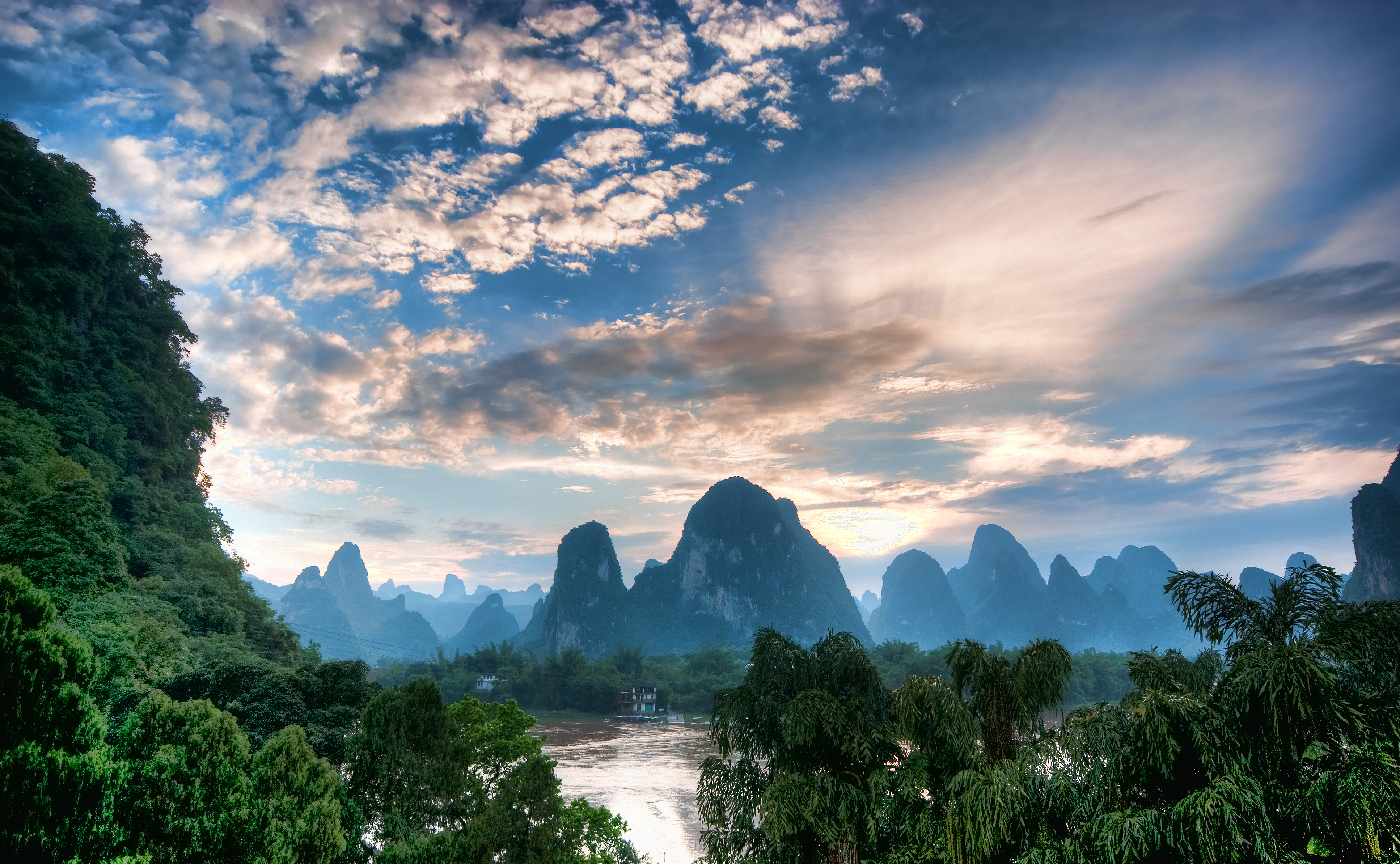 Li River River In China Thousand Wonders