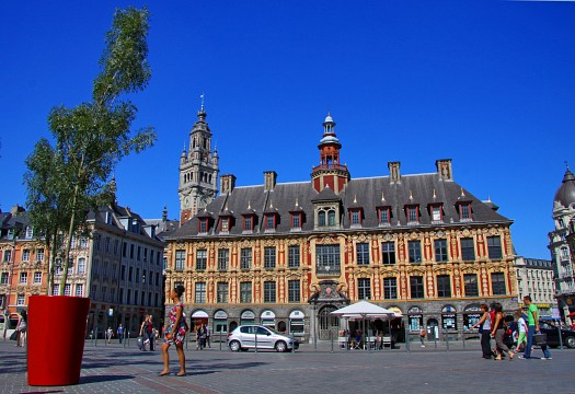Lille in france sightseeing and landmarks thousand - Chambre de commerce et d industrie lille ...