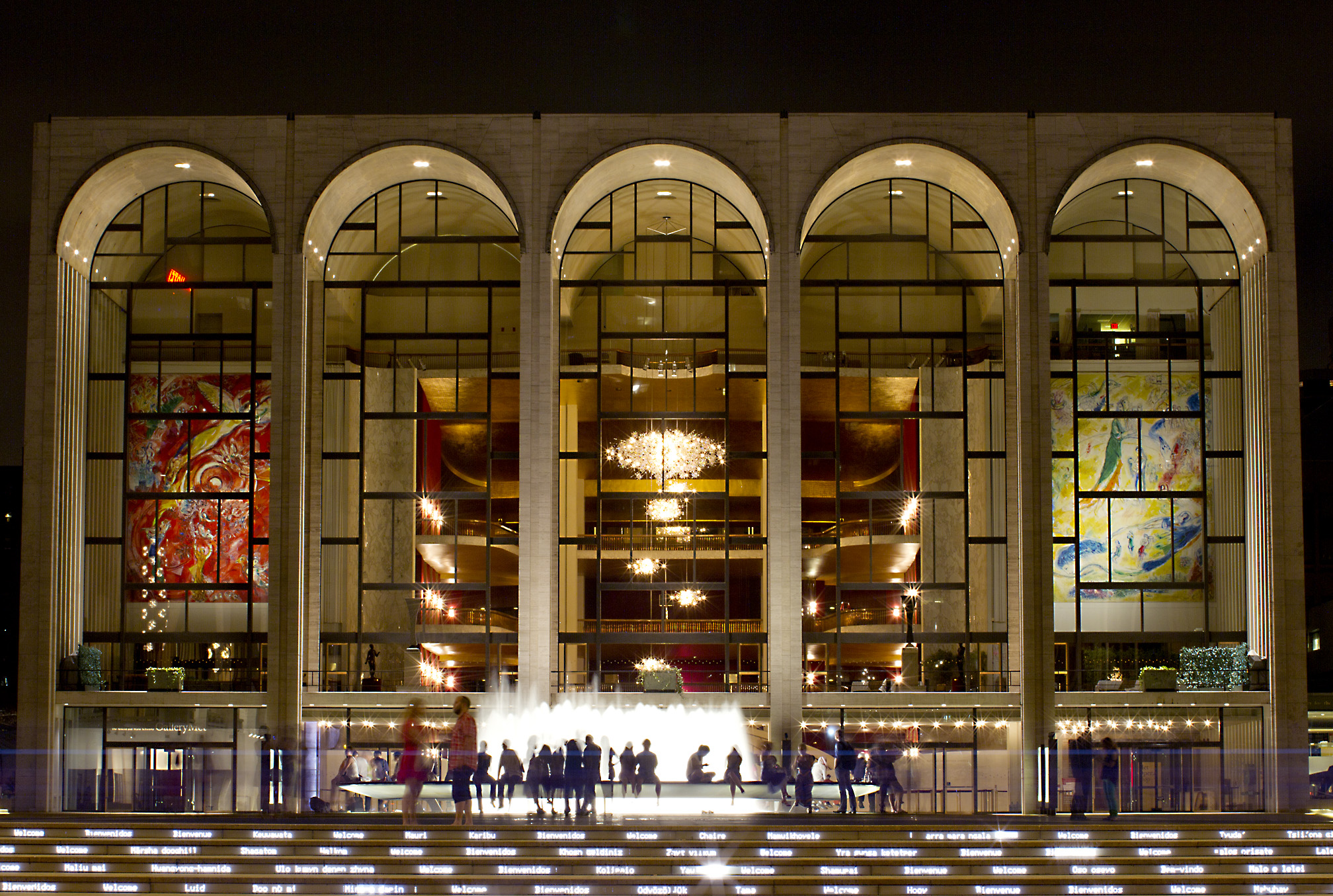 Lincoln Center For The Performing Arts Opera House In