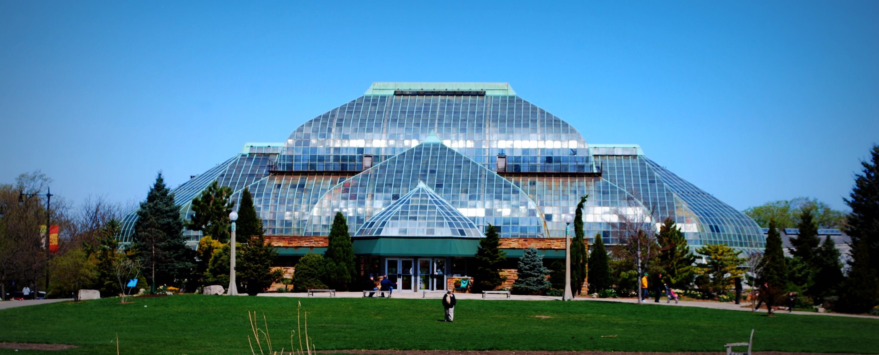 Lincoln Park Conservatory Museum In Chicago Thousand