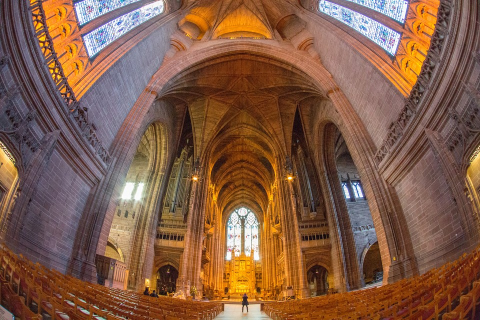 Liverpool Cathedral -HDR Sample 1-1 - Liverpool Cathedral