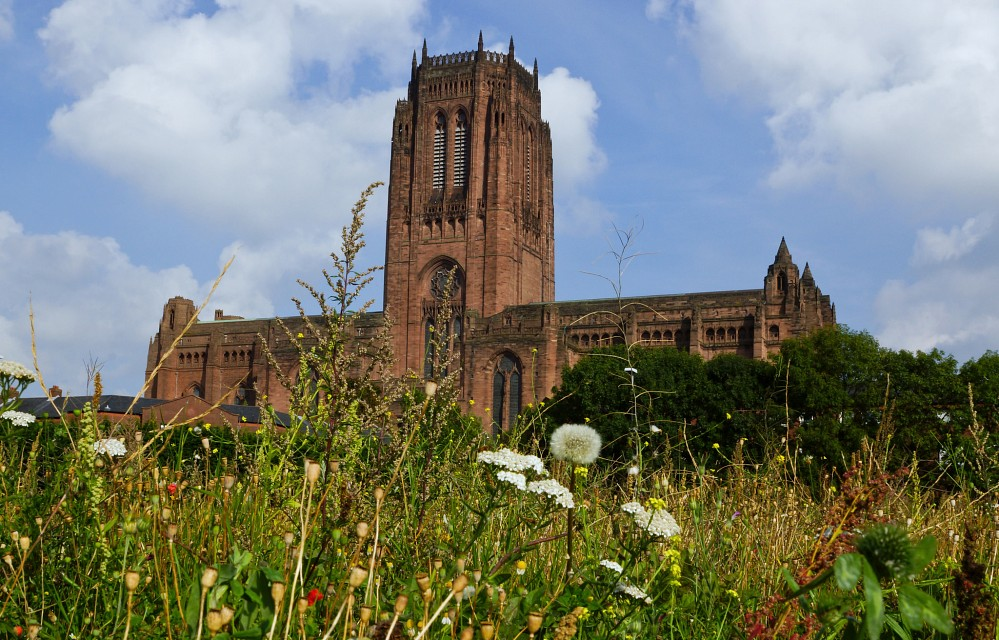 Liverpool Anglican Cathedral - Bird's Eye View - Liverpool Cathedral
