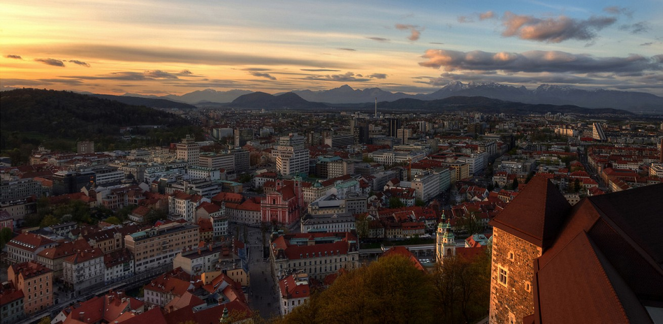Ljubljana. City in Slovenia, Europe