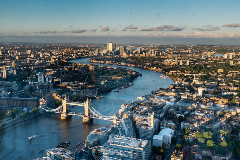 London from the Shard - London