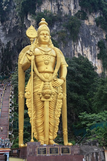 Lord Murugan Statue - Batu